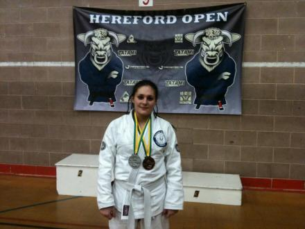 Helen at the Hereford Open