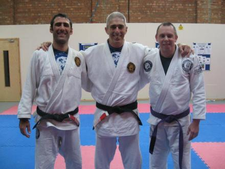 Mark Hayes Purple Belt Promotion